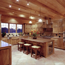 Traditional Kitchen by Design-Build-Color- with Marie