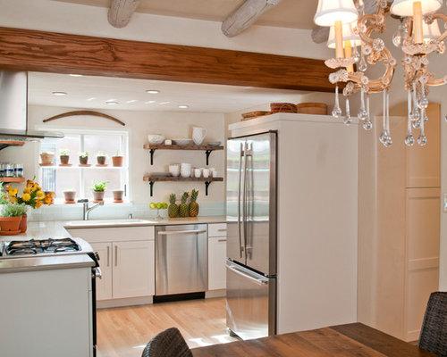 saveemail samuel design group - Open Shelves Kitchen Design Ideas