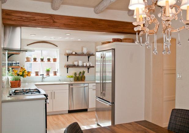 Transitional Kitchen by Samuel Design Group