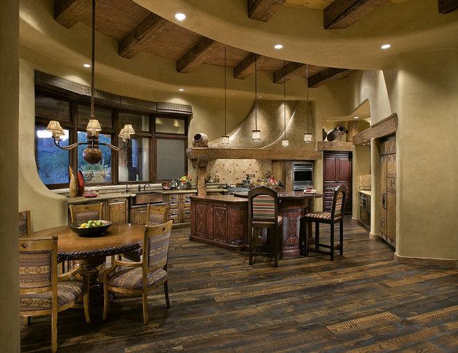 Southwestern Kitchen by Bess Jones Interiors