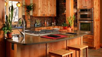 Southwestern Style Chef's Kitchen
