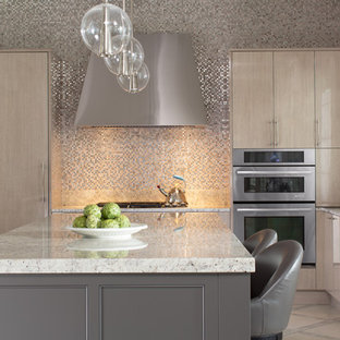 Sparkly Backsplash Houzz