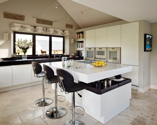 Kitchen With An Island Design Ideas Remodel Pictures Houzz