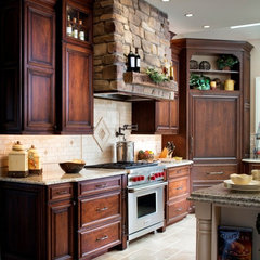 traditional kitchen by Lang's Kitchen & Bath