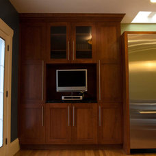 Contemporary Kitchen Spacial Duality