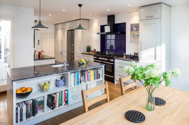 Transitional Kitchen by David Aldrich Designs Ltd