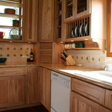 Eclectic Kitchen by Grayling Construction