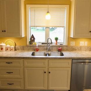 Spacious White Kitchen
