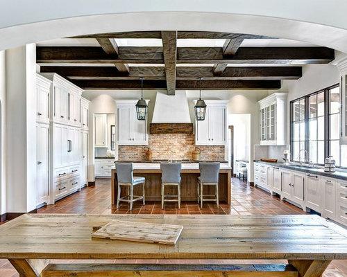 Brick Backsplash Kitchen Ideas, Pictures, Remodel and Decor