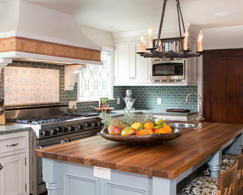 backsplash for kitchens teal backsplash home design ideas pictures remodel and decor 1421