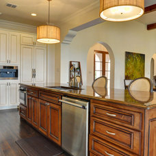 Contemporary Kitchen by Braswell Homes Inc