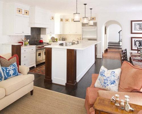 best kitchen sitting area design ideas remodel pictures houzz. Black Bedroom Furniture Sets. Home Design Ideas