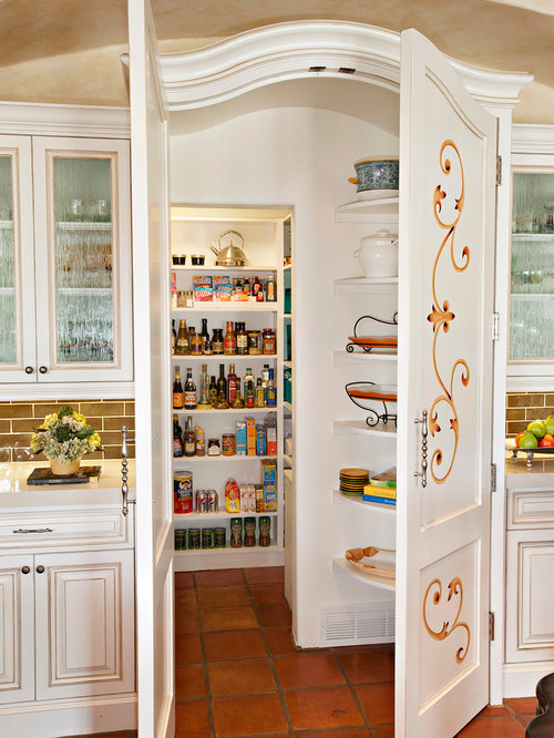Double Pantry Doors Houzz