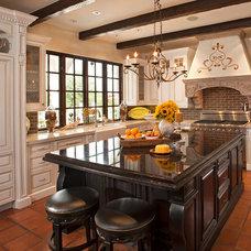 Mediterranean Kitchen by Matthew Thomas Architecture, LLC