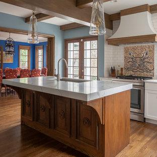 Mid Sized Mediterranean Kitchen Designs   Kitchen   Mid Sized Mediterranean  Medium Tone Wood