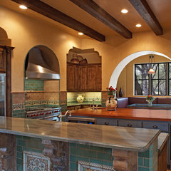 eclectic kitchen by Vanguard Studio Inc.