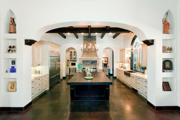 Mediterranean Kitchen by Design Studio2010, LLC