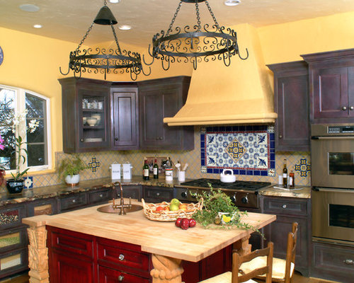 Rustic Mexican Kitchen Home Design Ideas, Pictures, Remodel and Decor
