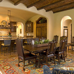 mediterranean kitchen by Astleford Interiors, Inc.