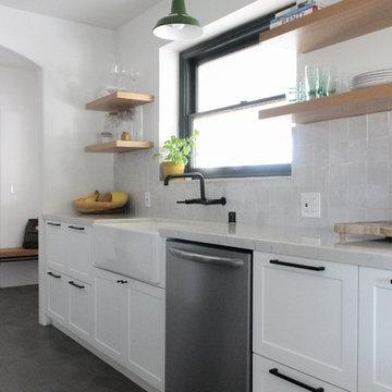 Spanish Modern Kitchen Remodel
