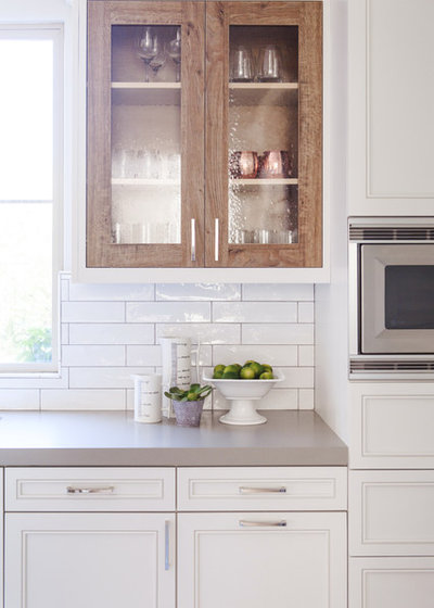 Transitional Kitchen by Savvy Interiors