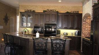 Spanish Oak Cabinets