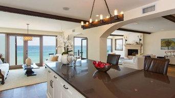 Spanish Patio, Stairway, & Kitchen Tile - Malibu, CA