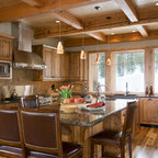 Josie S Cabin Rustic Kitchen Grand Rapids By Sears