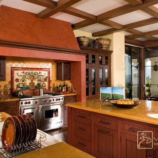 Spanish Revival kitchen with Malibu tile