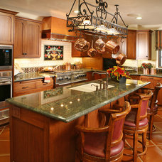 Mediterranean Kitchen by Cynthia Bennett & Associates