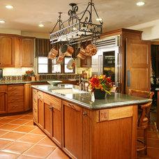 Mediterranean Kitchen by Cynthia Bennett & Associates