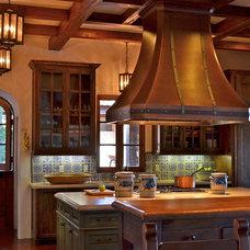 Traditional Kitchen by Melanie Giolitti Interior Design