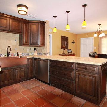 Spanish Style Kitchen Remodel Tampa, FL
