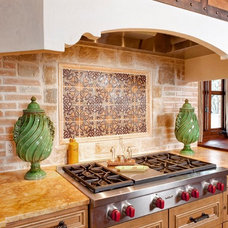 Mediterranean Kitchen by Palmer Todd
