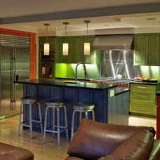 Eclectic Kitchen by MAC Architecture Construction