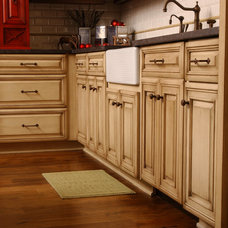 Traditional Kitchen by SpartaCraft Custom Cabinets