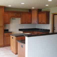 Traditional Kitchen by Ideal Cabinetry, LLC