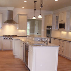 Traditional Kitchen by Deborah Toland at Carole Kitchen and Bath