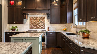 Spectacular Kitchen Remodel with double islands 6 burner gas stove Denver CO