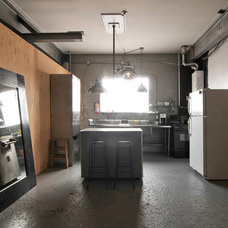Industrial Kitchen by Lucy Call
