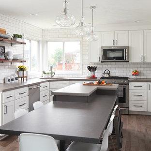 Spice Bush Drive . kitchen remodel