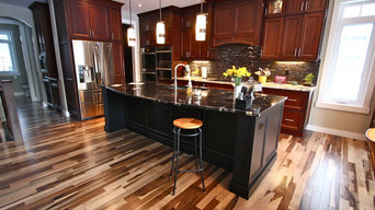 Spicer Residence - Kitchen and Bath: Hardwood and Tile