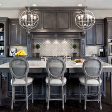 Traditional Kitchen by Laura Burton Interiors