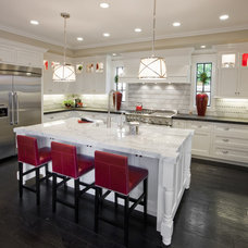 transitional kitchen by Spinnaker Development