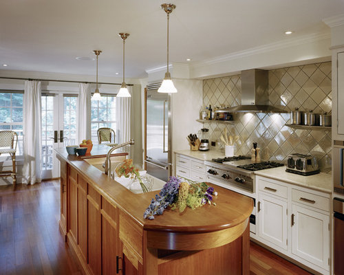 Diamond Shaped Backsplash Tile Houzz