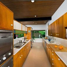 Midcentury Kitchen Spokane Midcentury - Mary Jean & Joel E. Ferris, II House