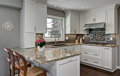 Small Kitchen Gets a Fresher Look and Better Function