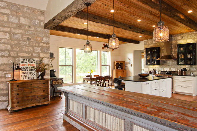 Bunkie kitchen ideas rustic but functional for Bunkie interior designs