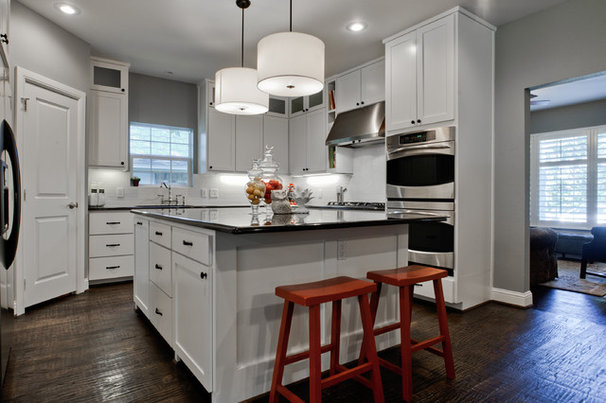 Transitional Kitchen by New Leaf Construction