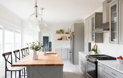 Kitchen Tour: A Clever Layout Tweak Transforms an Awkward Design
